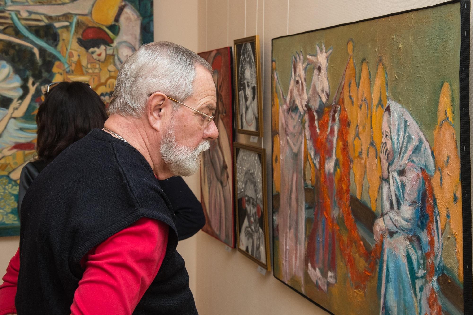 Член творческого союза художников